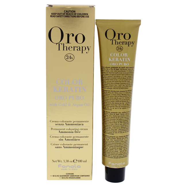 Fanola Oro Therapy Color Keratin - 5-00 Intense Light Chestn