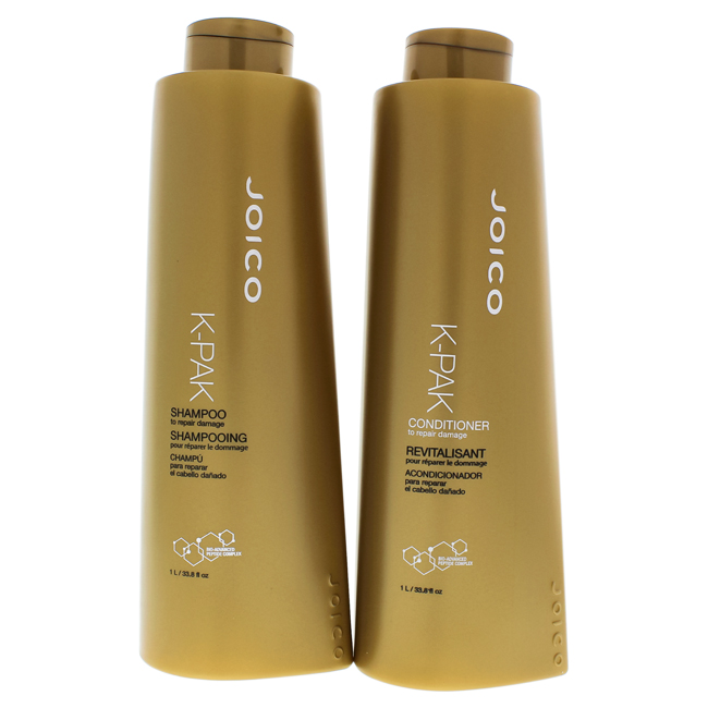 K-Pak Kit This kit includes a shampoo and conditioner. K-Pak